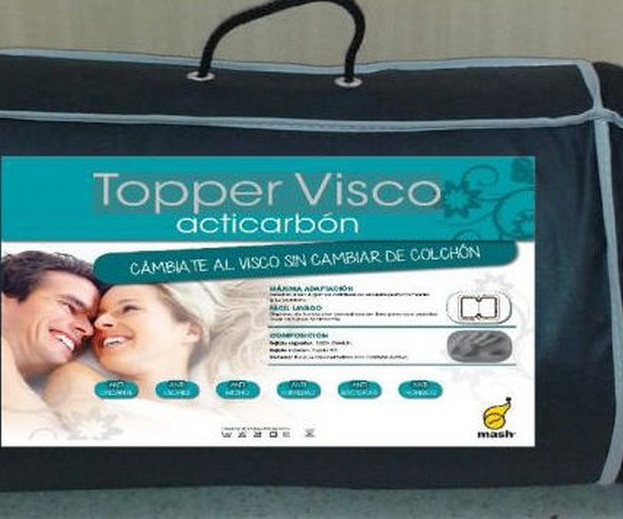 Topper Visco Mash