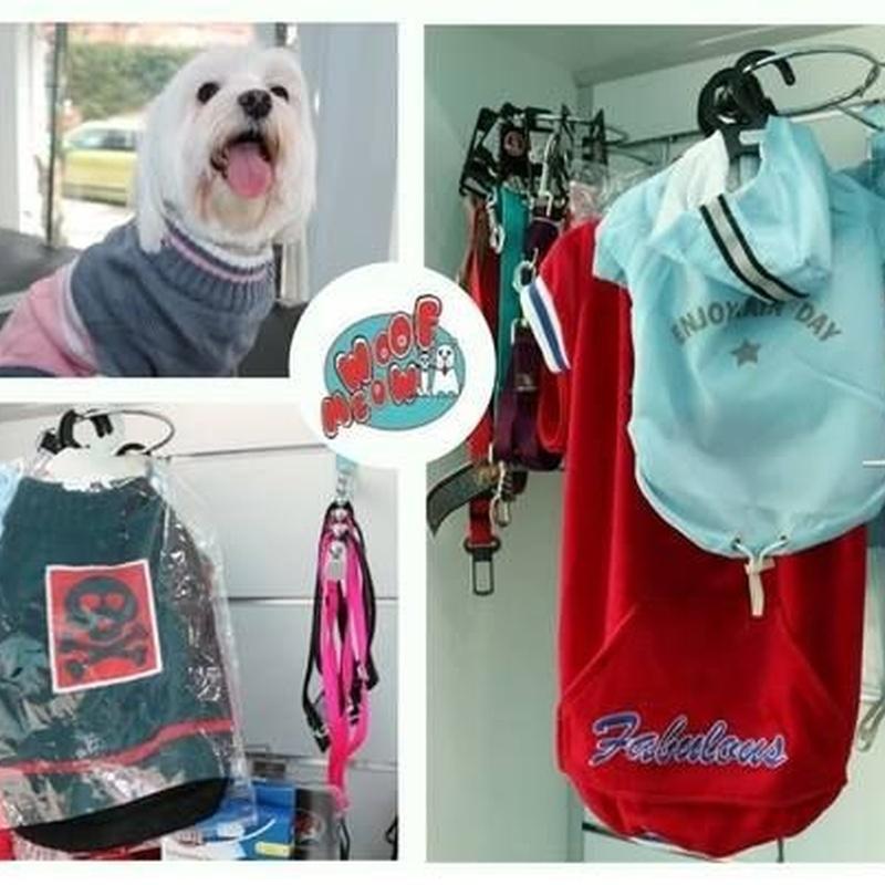 Accesorios y complementos: Productos y servicios de Peluquería Canina Woof Meow