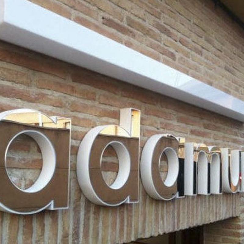 Rotulación y letras corpóreas: Productos de Solargar