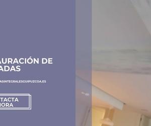 Restauración de fachadas en Guipúzcoa | Jorge Pinturak