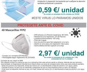 Material de protección y desinfección