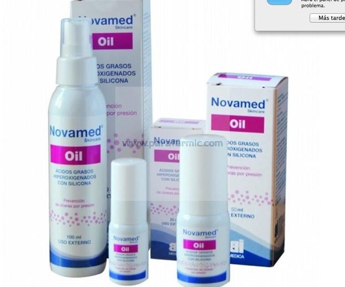 Acidos grasos hiperoxigenados Novamed Oil