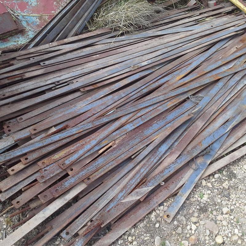 Pletinas usadas en Albacete en Chatarras Clemente