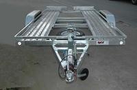 Remolque para transportar furgones