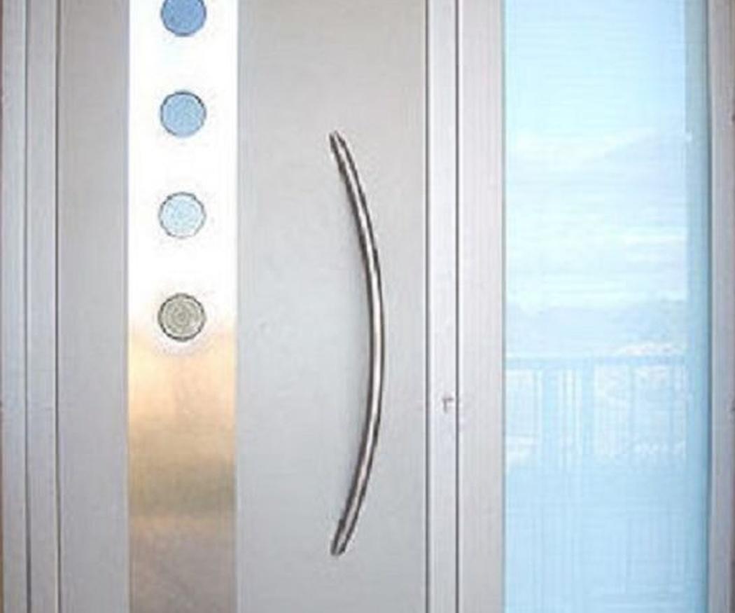 Puertas de aluminio también para interiores