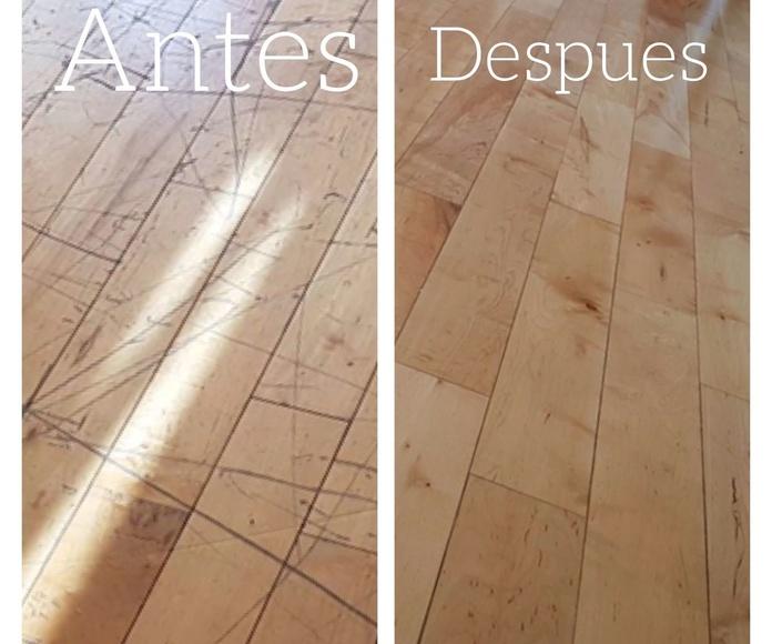 Restauración de tarima en Madrid con woodmagik