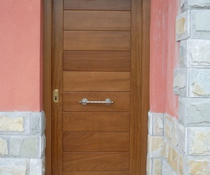 Puerta Entrada Maciza Candás
