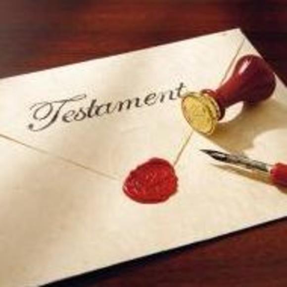 Testamento: Servicios notariales  de Mª Gemma López-Brea Espiau