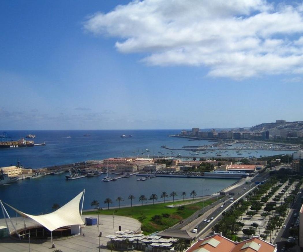 El puerto de Las Palmas de Gran Canaria