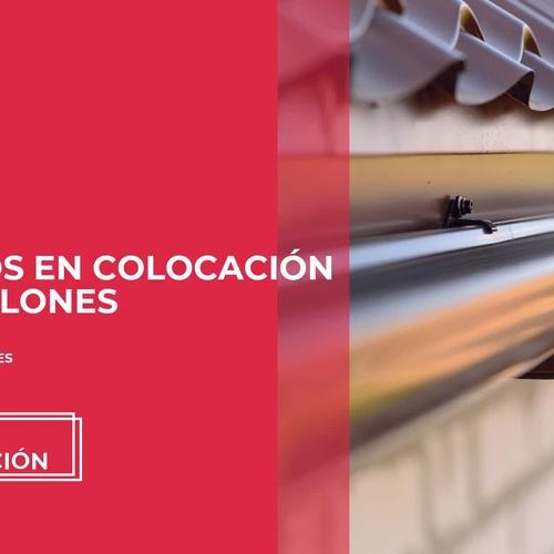 Instalación de canalones Valladolid | Luma Canalón