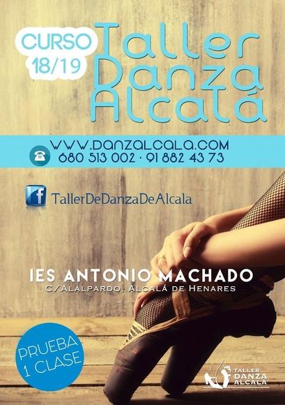Portada Antonio Machado 18/19