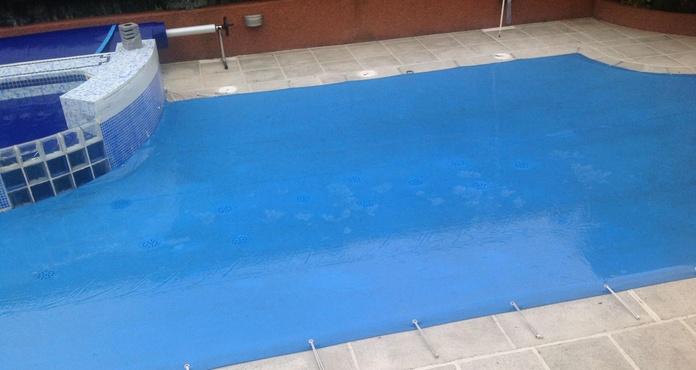 Cubiertas de protección de piscina: Catálogo de Hidromatic Rosell