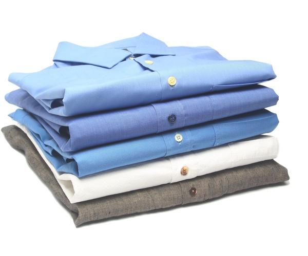 Servicio de embolsado y prendas dobladas