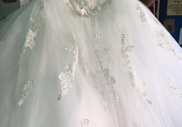 Transformar vestido de novia en vestido de fiesta