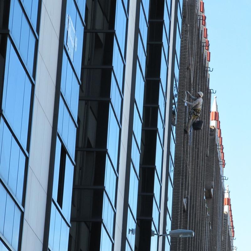 Trabajos verticales Edificio del Progreso Santander