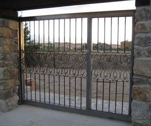 Puertas metálicas en Segovia