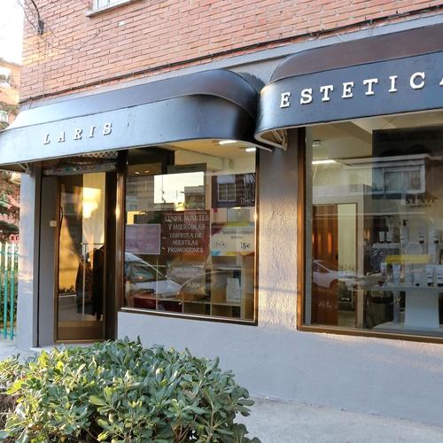 Fachada de nuestro centro de estética en Ciudad Lineal (Madrid)