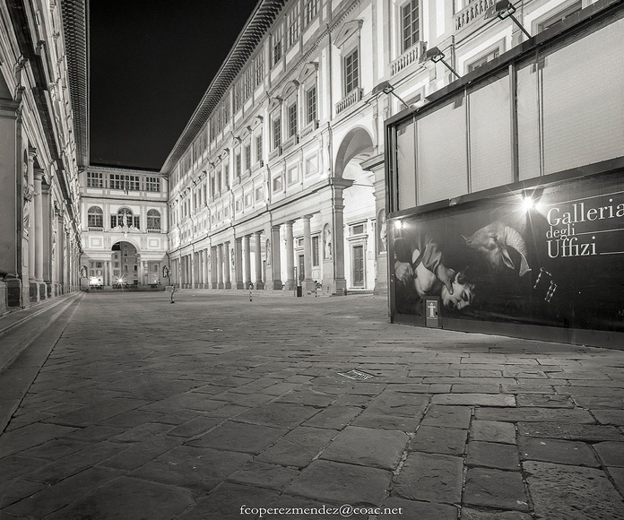 Florence Italy Galleria degli Uffizi