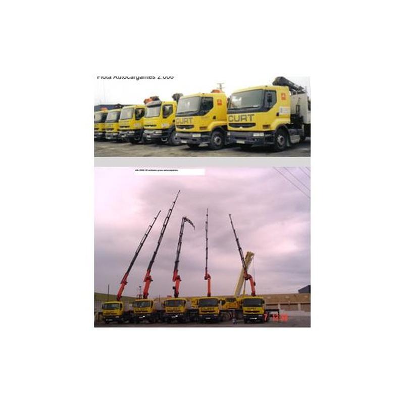Autocargante: Servicios de Grúas y Transportes Curt
