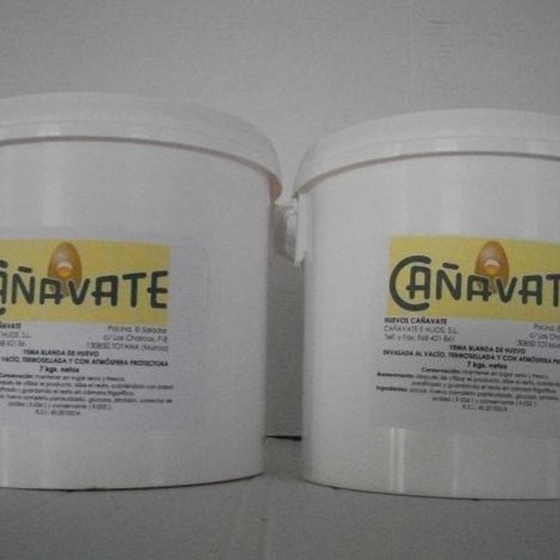 Yema Confitada: Productos de Huevos Cañavate