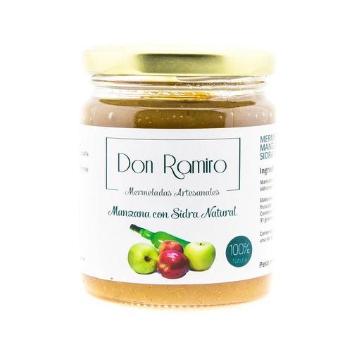 mermelada de manzana con sidra