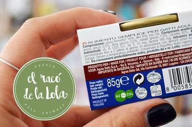 Leer las etiquetas de las latas