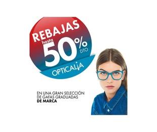 REBAJAS HASTA EL 50% EN OPTICALIA STUDIO VISION