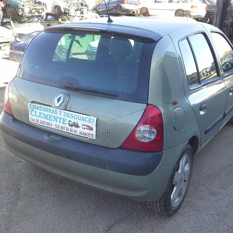 Renault Clio año 2003 en Desguaces Clemente en Albacete