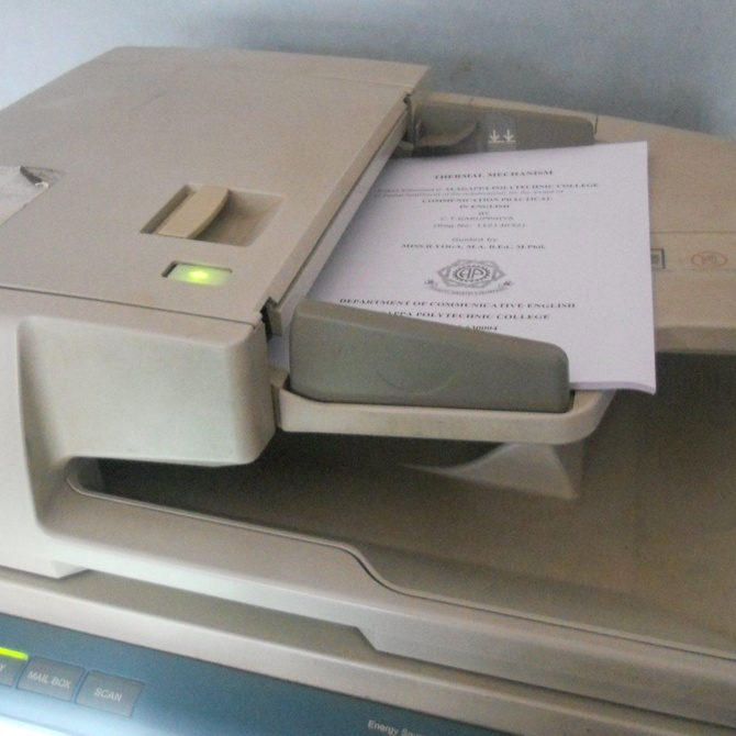 El curioso origen de la primera fotocopiadora