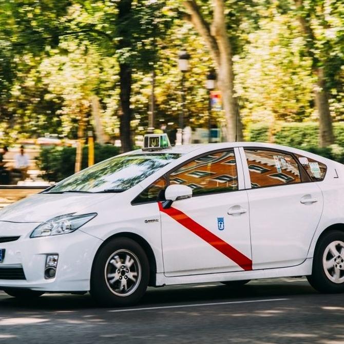 La dura competencia en el mundo del taxi