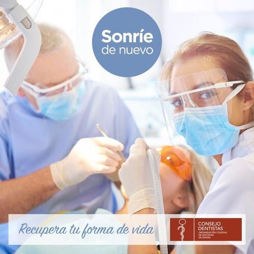 Dentista en Cádiz Javier Pérez se prepara para la vuelta.