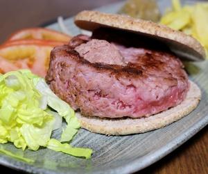 Deliciosas hamburguesas de carne de potro