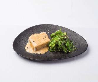 Langostino frito: Carta de Restaurante Sowu