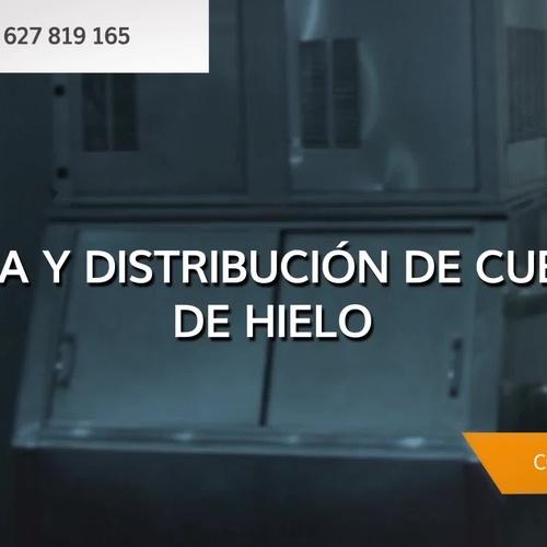 Máquina de hielo industrial en Mallorca   Cubiforma