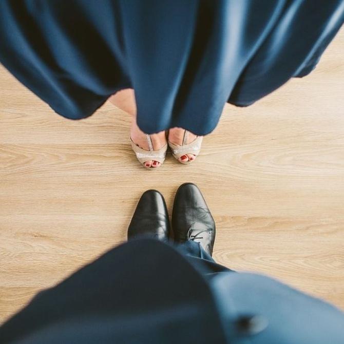 Las posiciones de los pies al bailar