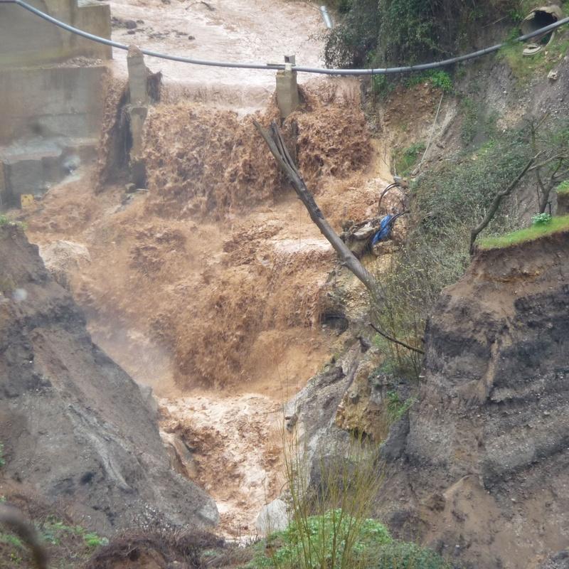Estudios de riesgo de avenidas e inundación (Arrojo Juncal en Granada)