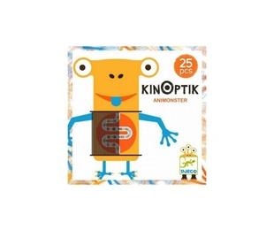 Puzzle Kinoptik Animonster - Juego Óptico Magnético