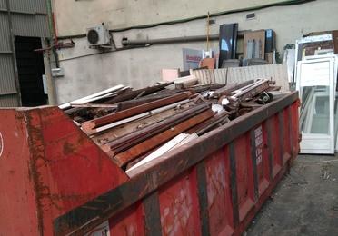 Servicio de recogida de escombro
