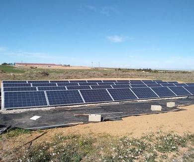 Bombeo solar para riego de viña