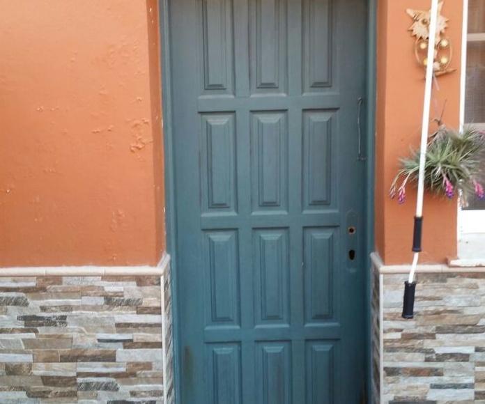 Puerta para terraza: ALUMINIO - PVC de ALUMINIOS CARPAL