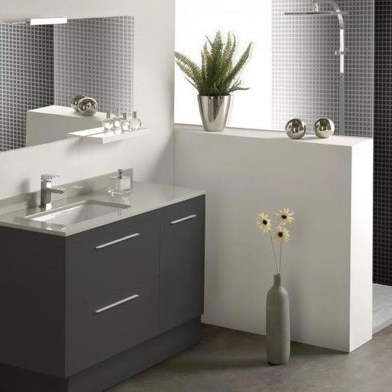 Mueble de baño Vidrebany colección Easy modelo Lacado
