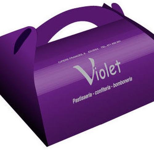 Caja papillote Confitería Violet (Thiolat)