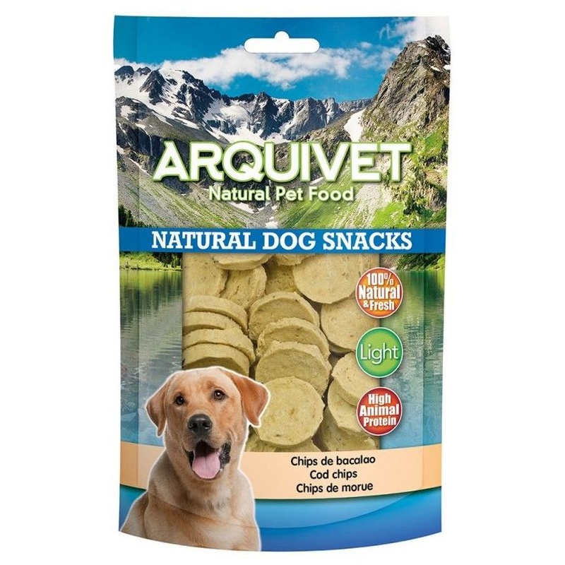 Chips de bacalao  100gr: Para tu mascota de New Art Can