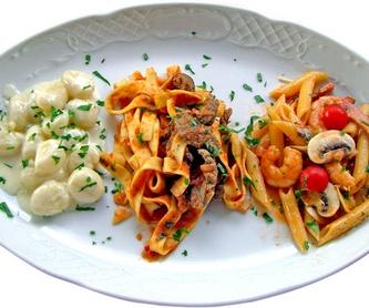 CARNES: Catálogo de Restaurante - Pizzería Capri