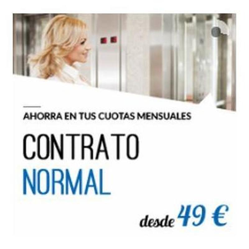 Contrato normal: Productos y servicios  de Ascensur
