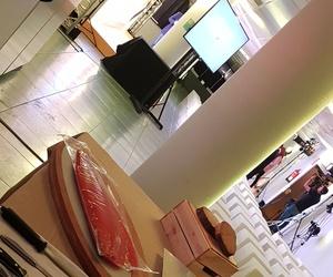 Presentación de mesa salmón