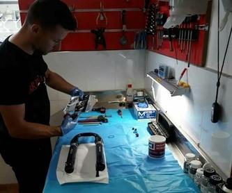 Marca SHIMANO: Servicios de Artbikes