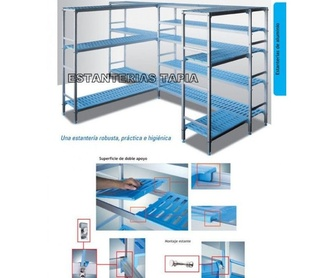 Mobiliario comercial: Tienda online de Estanterías Tapia