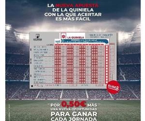 Ahora en la quiniela por solo 0,50€ puedes participar tambien al nuevo juego de elije 8.
