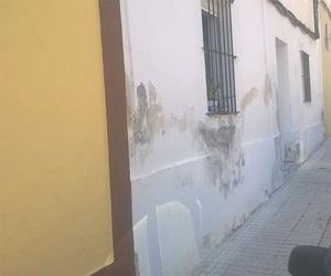Humedades en fachada, antes
